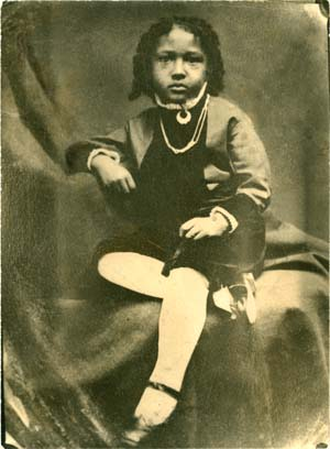 W.E.B. Du Bois as a child, 1872