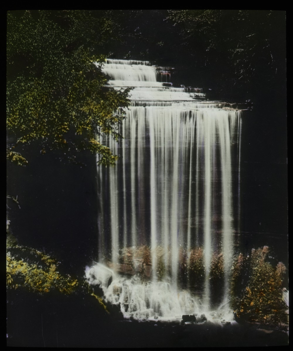 Mariana State Parks (cascading waterfall), undated
