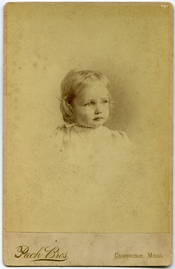 Channing, Elizabeth T.: half-length studio portrait, seated (Cambridge, Mass.)