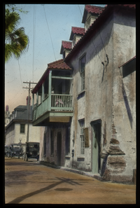 St. Augustine (street in old part of town), delicate slide