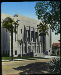 Pasadena (Scottish Rite Cathedral- large grey building)