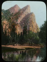 California, The Three Brothers, Height 3830; Yosemite Valley