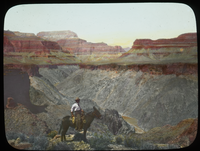Man on Mule (Grand Canyon?)