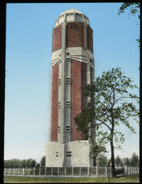 Water tower - Hallrud (tall brick tower)
