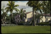 Palm Beach (Large stucco residence among palm trees)