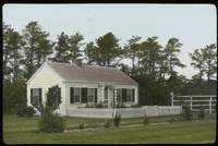 Cape Cod (single story cape cod house with picket fence)