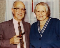 Tracy M. Sonneborn and wife
