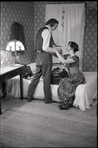 Frye Boots advertising (domestic scene)