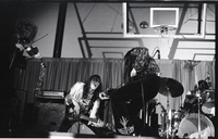 Unidentified band in concert
