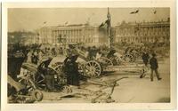 German artillery on display