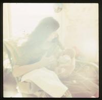 Nina feeding baby (Eben)