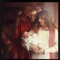 Chuck, Nina, and baby (Eben)