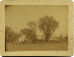 Photographs: Asa's old farm in Amherst, Mass., before any improvements, linking to the digital object