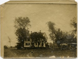 Photographs: Unidentified farm house (Amherst, Mass.)
