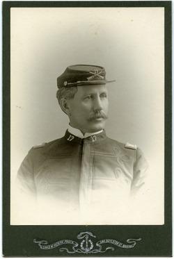 Photographs: Dickinson, Walter Mason (Boston, Mass.), in 17th Infantry Regiment uniform