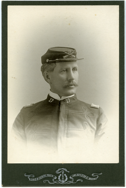 Photographs: Dickinson, Walter Mason (Boston, Mass.), in 17th Infantry Regiment uniform, linking to the digital object