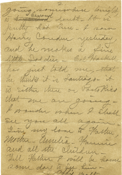 Letter from Walter M. Dickinson to unidentified recipient (incomplete), linking to the digital object