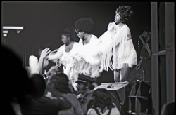 Richard Nader's Rock and Roll Revival concert at the Springfield Civic Center: the Shirelles in performance (Springfield, Mass.), linking to the digital object