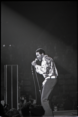 Richard Nader's Rock and Roll Revival concert at the Springfield Civic Center: Chubby Checker in performance (Springfield, Mass.), linking to the digital object