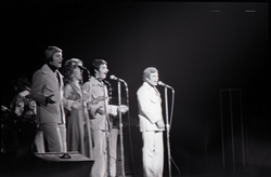 Richard Nader's Rock and Roll Revival concert at the Springfield Civic Center: the Skyliners in performance (Springfield, Mass.), linking to the digital object