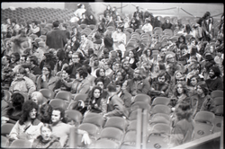 Richard Nader's Rock and Roll Revival concert at the Springfield Civic Center: shot of the crowd with lights raised (Springfield, Mass.), linking to the digital object
