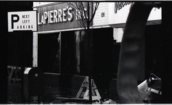 Fire on Main Street, Greenfield, Mass.: ruins of La Pierre's store (Greenfield, Mass.), linking to the digital object