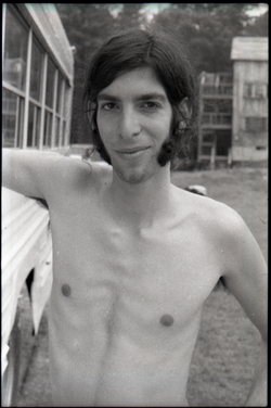 Bill Grabin, shirtless (Warwick, Mass.), linking to the digital object
