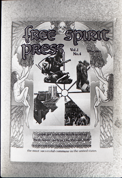 Copy of front cover of Free Spirit Press (vol. 1, 4) , linking to the digital object