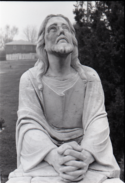 Statue of Jesus praying (New York, N.Y.), linking to the digital object