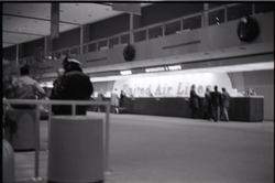 United Airlines ticket counter,JFK airport (New York, N.Y.), linking to the digital object