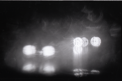 View through a rain-covered window (New York, N.Y.), linking to the digital object