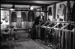 Display of crafts for sale, the Leather Shed (Amherst, Mass.), linking to the digital object