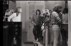 James Baker (far left) and camera crew for the program Open Door (Springfield, Mass.), linking to the digital object