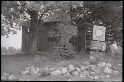 Front entrance to the Brotherhood of the Spirit Commune dormitory (Warwick, Mass.), linking to the digital object