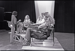 Commune members at the WGBY Catch 44 (publ