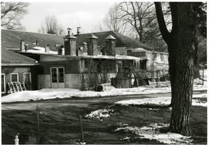 Munson Annex: rear (west-facing) side