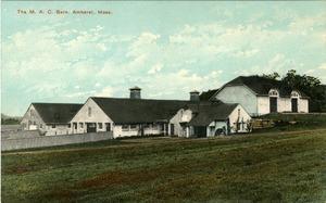 M.A.C. Barn, Amherst, Mass. [postcard]