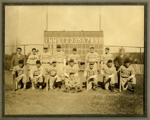 Polish Tigers baseball team, Southbridge, Mass.