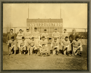 Polish Tigers baseball team, Southbridge, Mass., linking to the digital object