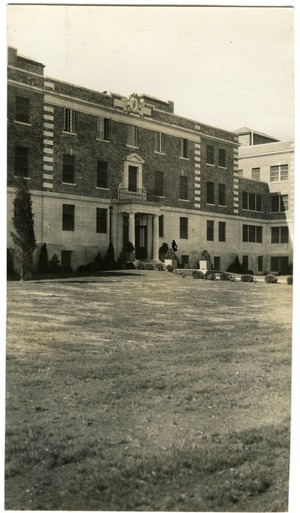 Administration building, Norfolk Prison Colony