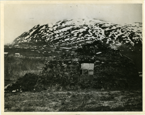 Lapp hut at north (Norway), linking to the digital object