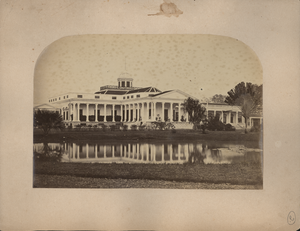 Back View of Gov. Genl's. Palace at Buitenzorg, Java, linking to the digital object