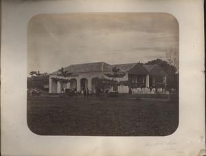 Horse R.R. Station, Batavia, Java