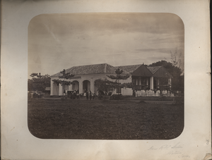 Horse R.R. Station, Batavia, Java, linking to the digital object