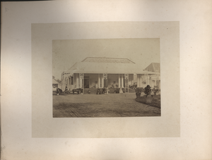 Private House at Sourabaya [Surabaya], Java, linking to the digital object
