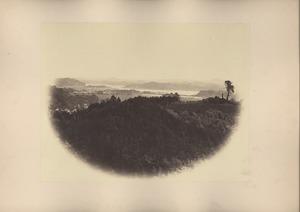Kanazawa view from hill