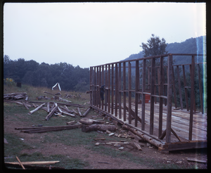 Johnson Pasture Commune: Building construction, linking to the digital object