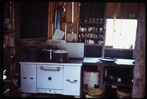 Johnson Pasture Commune: Kitchen at Johnson Pasture