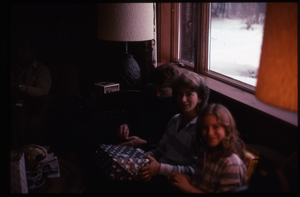 Wendell Farm: Nina Keller and kids, N.,H.