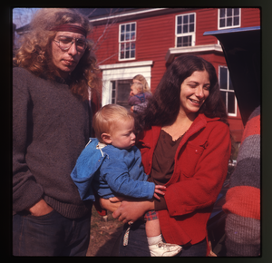 Montague Farm: Chuck Light and Nina Keller and baby